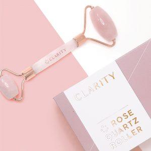 Clarity Rose Quartz Roller